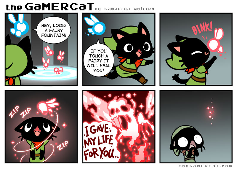 Gamer Cat : Les fées, c'est la vie