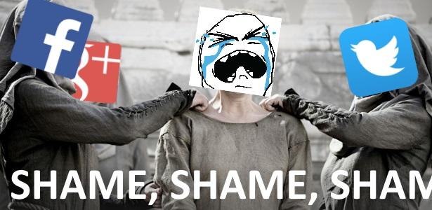 Shame Facebook Twitter Google+